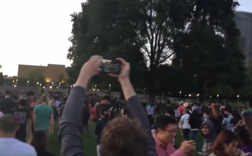 Un Pokémon Go Rare à Washington