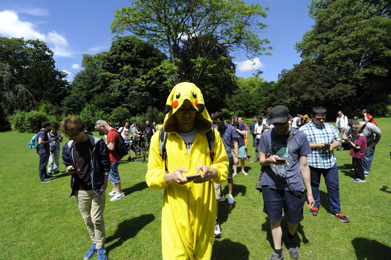 Les premiers rassemblements Pokémon Go sont organisés